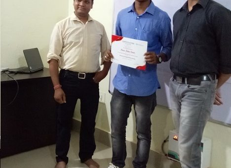 Congratulations Rahul- Read Full Testimonial, How the Course Helped him to Achieve his Goal