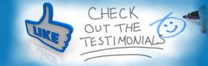 checkout the testimonials