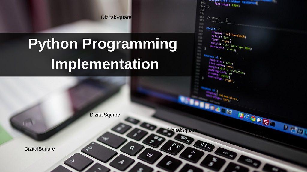 Python Programming Implementation