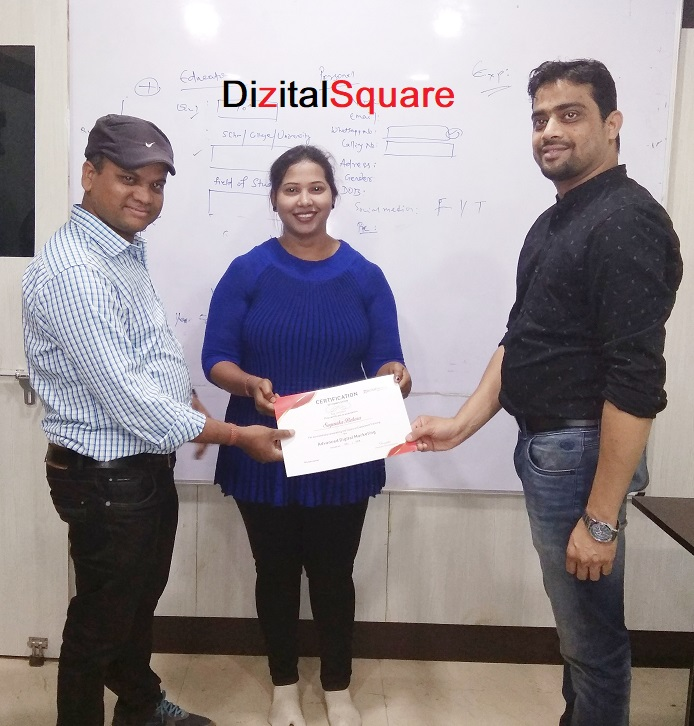 Sagarika digital marketing certification