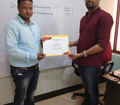 Digital Marketing Testimonial from Sonu Kumar