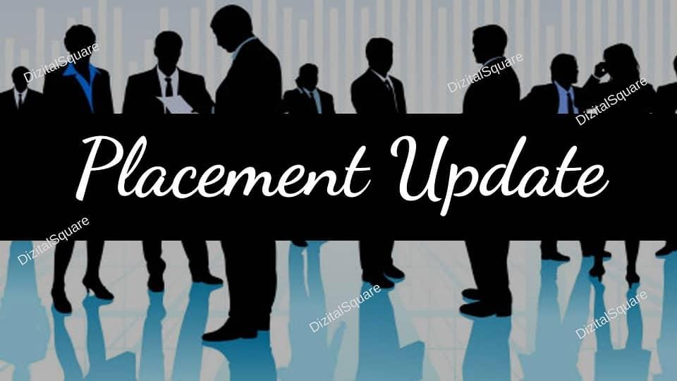 Digital Marketing Placement Update