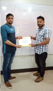 Krushna Certification