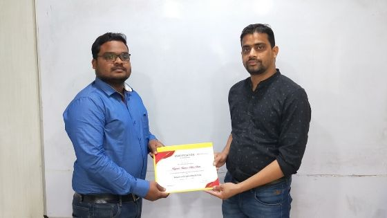 Rupesh Certification