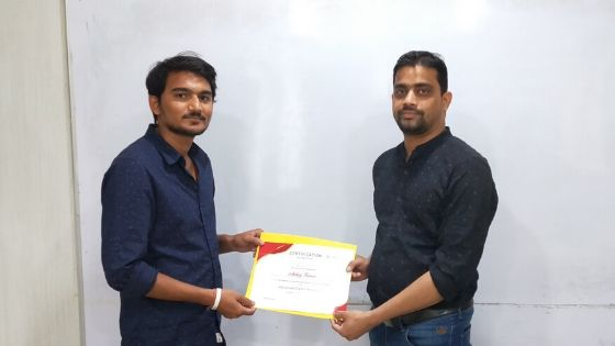 Akshya Digital Marketing Certification with DizitalSquare