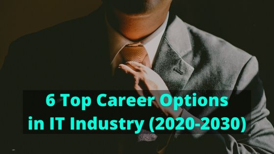 6 Top Career Options in IT Industry (2020 to 2030)