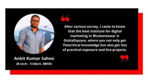 Testimonial from Ankit -Digital Marketing