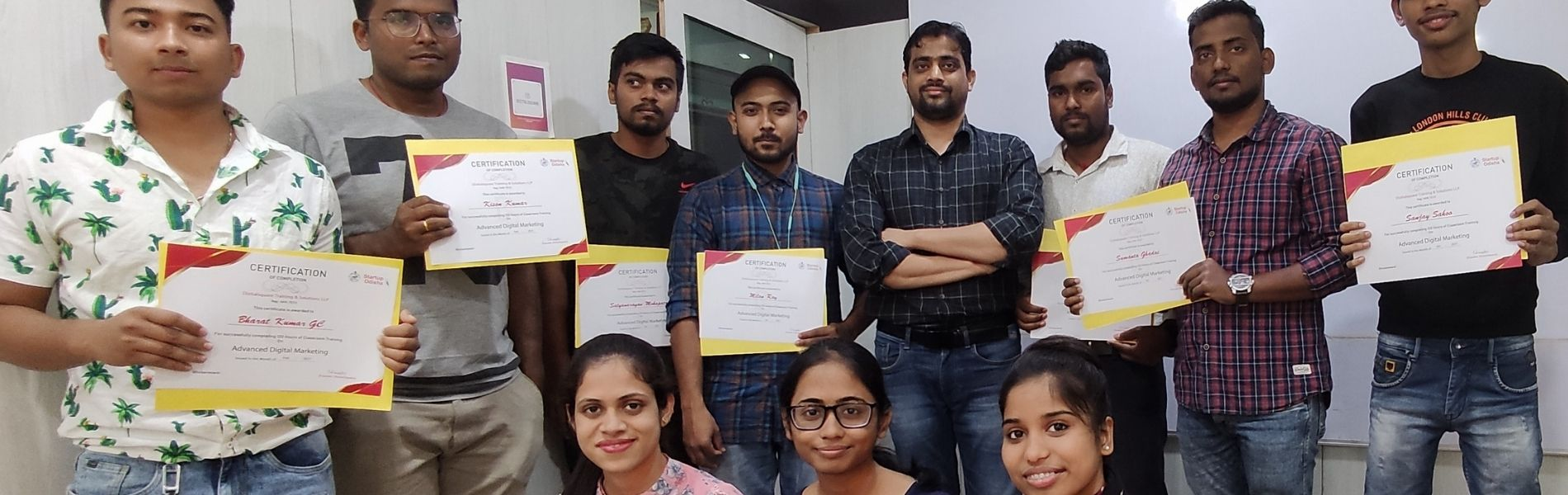One of the Top 10 Promising Digital Marketing Institute of India (2019)