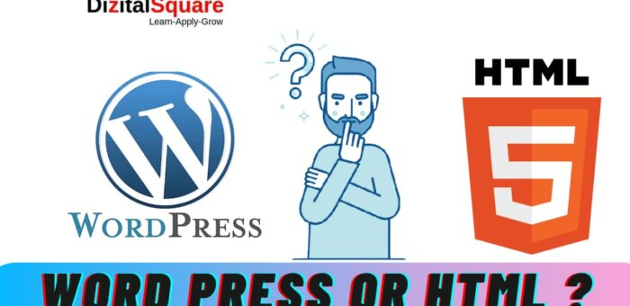 Should You Create Your Website Use Word Press or HTML ?